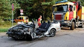 Accidents on the Roads. Compilation August 2014