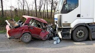 Accident on Russian roads