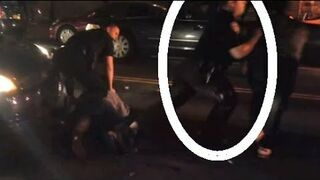 Policjanci brutalnie potraktowali kobietę w ciąży