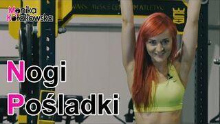 Ćwiczenia na Nogi i Pośladki - Monika Kołakowska