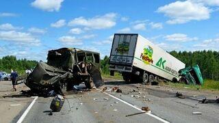 Аварии на дорогах. Russian car accidents