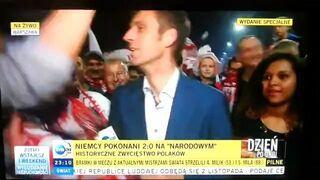Polska - Niemcy 2:0 . A tymczasem na TVN24