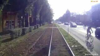 Częstochowa: Potrącenie pieszego przez tramwaj