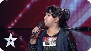 "Niesamowita 8-Latka śpiewa ""Listen"" Beyonce - Indonezja Got Talent"