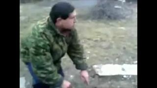 Test hełmu w Rosji