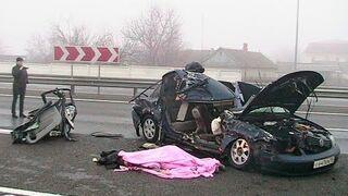 Russian Car Crash Compilation 2014
