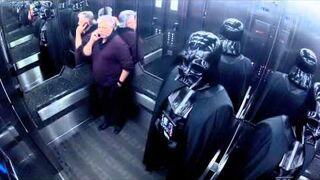 Harlem Shake - Star Wars Elevator w windzie