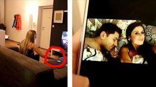 Wysłał do siebie zdjęcie z inną w łóżku! Dziewczyna podejrzała telefon!