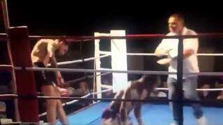 Spektakularny knockout K-1