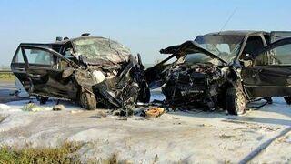 Hard road accidents - November 2014