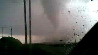 Tornado w Błotnicy Strzeleckiej - 15.08.2008