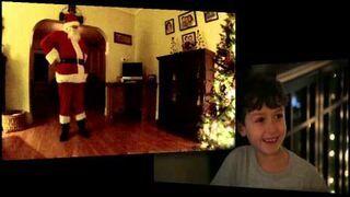 Nagrał Świętego Mikołaja ukrytą kamerą!