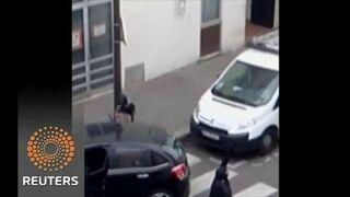 """Polacy nagrali film z ataku na """"Charlie Hebdo"""". """"Janek, schowaj pałę"""""""