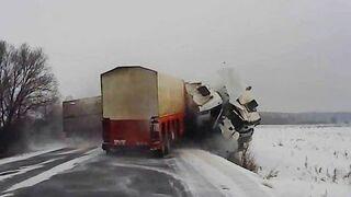 Winter car accident 2015