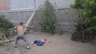 Walka dwóch meksykanów z nokautem