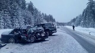 Winter accidents on the roads 20`5