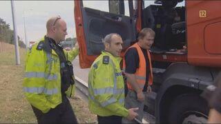 Polski kierowca w Anglii płacze jak dziecko. Polacy z maczetami