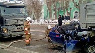 Russian car accidents 2015