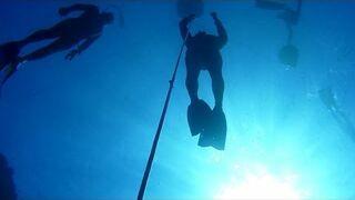 Freediving na Blue Hole