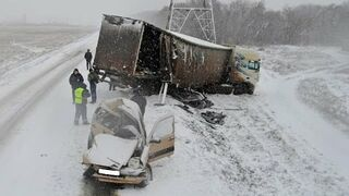 Winter accidents on the roads 2015