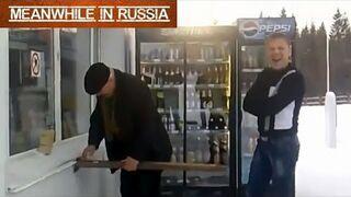Tymczasem na stacji gazu w Rosji