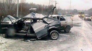 ДТП и Аварии автомобилей. Accident on the road 2015
