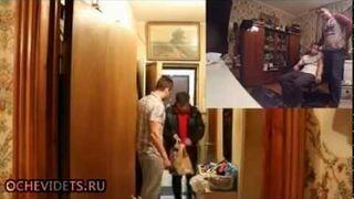 Żart kozaków i dostawca pizzy z bronią