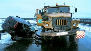 Russian car accidents Compilation 2015