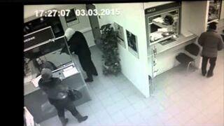 Zignorowany napadł na bank
