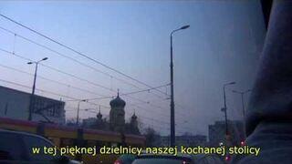 Wyluzowany kierowca w autobusie 509 (Gocław - Nowodwory)