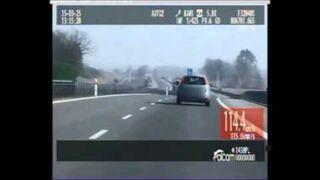 135 km/h i wyprzedzanie radiowozu podczas nauki jazdy