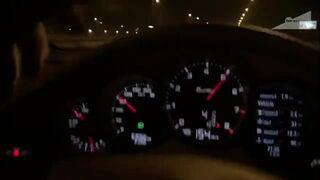 Pozdrowienia dla Bogusia z M3 - 300 km/h w porsche po Warszawie