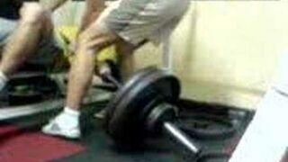 Nieudana próba wyciśnięcia rekordu 1x120kg