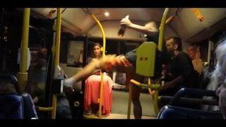Nieobliczalni ludzie w autobusie (kompilacja)