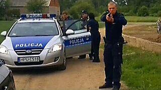 Policja u Wardęgi
