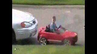 Mały mistrz parkowania