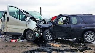 Russian car accidents april 2015