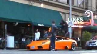 BMX'em po Lamborghini