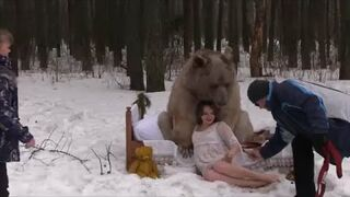 Sesja zdjęciowa w Rosji