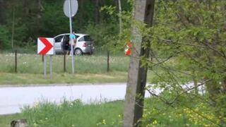 Szybki numerek przy drodze przerwany przez Policje