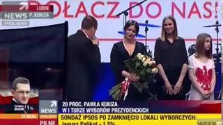 Paweł Kukiz masakruje TVN po ogłoszeniu wyników wyborów prezydenckich 2015