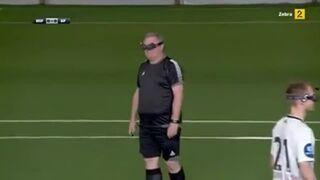 Nietypowy mecz piłki nożnej!