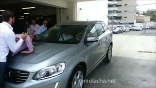 Prezentacja nowego systemu autoparkowania