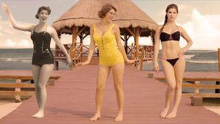 Zobacz ewolucje bikini od roku 1890