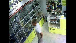 Bestialski napad w sklepie!