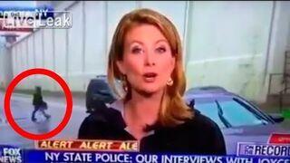 Przemycał paczkędo więzienia. Został przyłapany w telewizji na żywo!